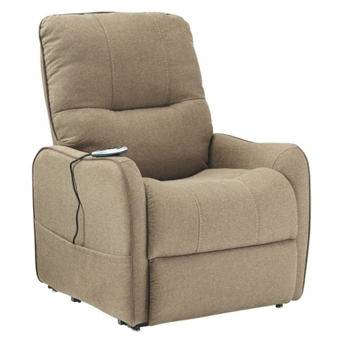 Enjoy Power Lift Recliner Latte Brown - Signature Design by Ashley - image 1 of 5