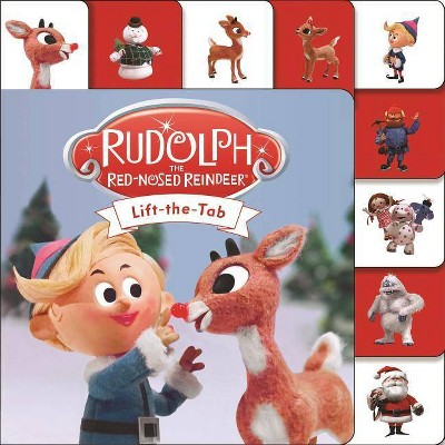 Rudolph the Red-Nosed Reindeer - (Mini Tab) by  Roger Priddy (Board Book)