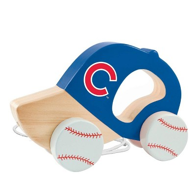 MLB Chicago Cubs Push Pull Baby Toy
