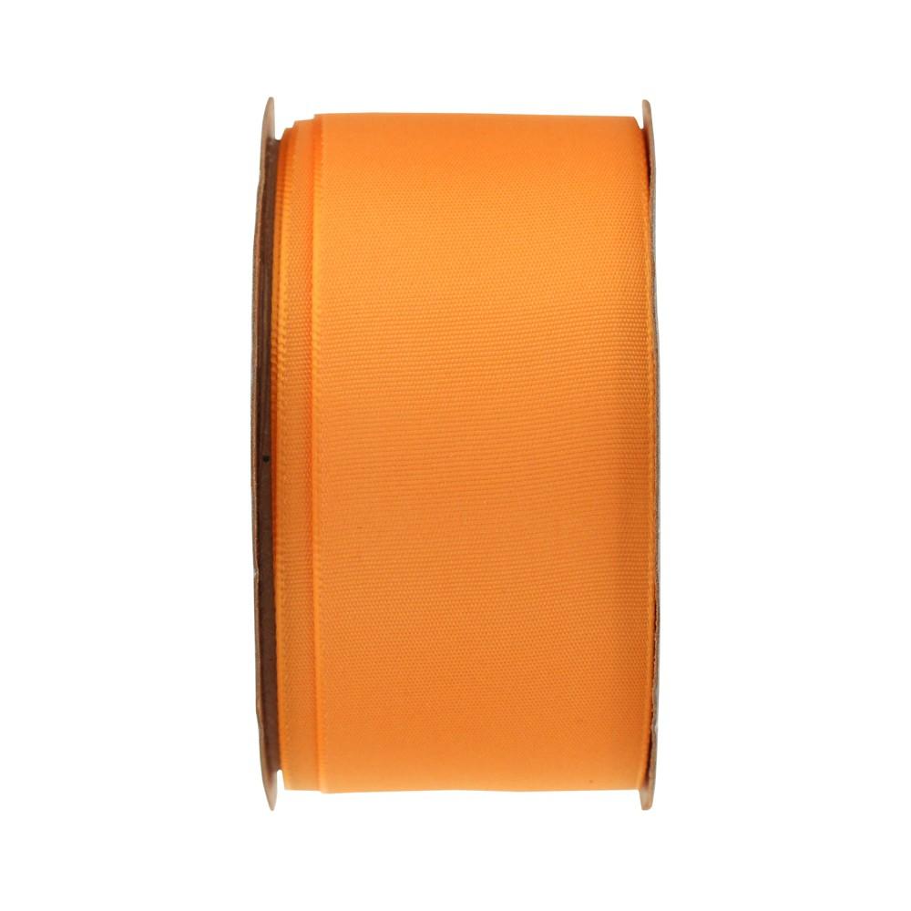 Orange Satin Fabric Ribbon - Spritz