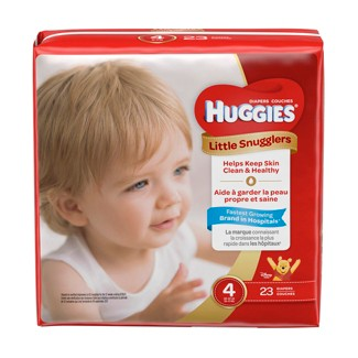 Huggies Little Snugglers Diapers Jumbo Pack - Size 4 (23ct )