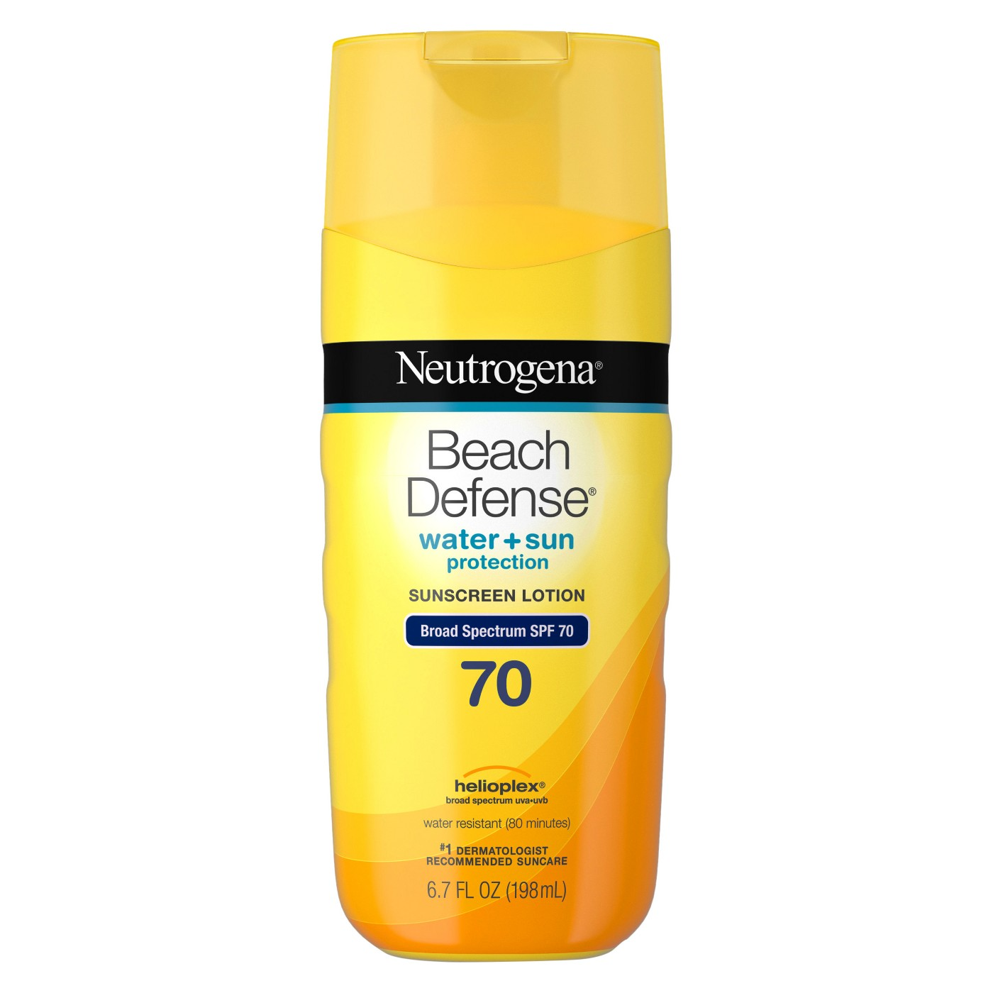 Neutrogena® Beach Defense Broad Spectrum Sunscreen Body Lotion  - SPF 70 - 6.7oz - image 1 of 3