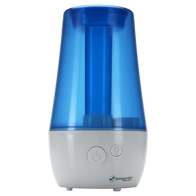 Pureguardian H965AR 70-Hour Ultrasonic Cool Mist Humidifier with Aromatherapy, Table Top, 1-Gallon