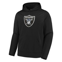 NFL Oakland Raiders Men's Linear Stripe Performance Hoodie