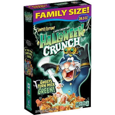 Cap'n Crunch Halloween Family Size Cereal - 20.5oz