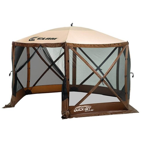 Quick-Set Escape XL 12.5ft. Portable Camping Outdoor Gazebo Canopy Shelter - image 1 of 4