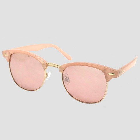 459e861eb7 Women s Clubmaster Sunglasses - Pale Pink   Target
