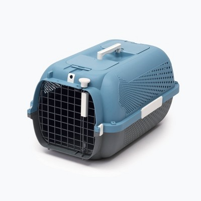 Catit Profile Voyageur Dog and Cat Carrier - M - Blue/Gray