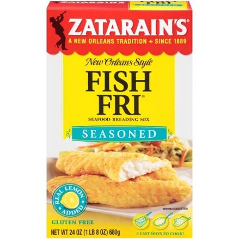 Zatarain's Seasoned FishFri Mix- 24oz - image 1 of 4