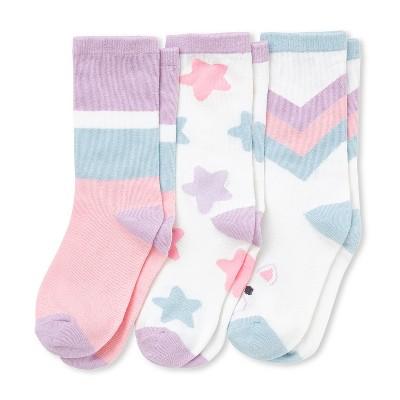 Cubcoats Kids 3-Pack of Uki the Unicorn Premium Socks