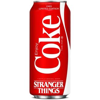 Coca-Cola and Stranger Things - 16 fl oz Limited Edition Can