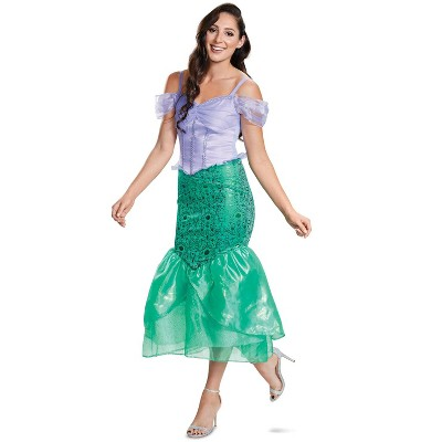The Little Mermaid Ariel Deluxe Adult Costume (Classic Collection)