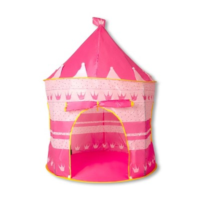 Ningbo Zhongrui Import And Export Co Pink Fantasy Castle Play Tent | 54 x 41 Inches