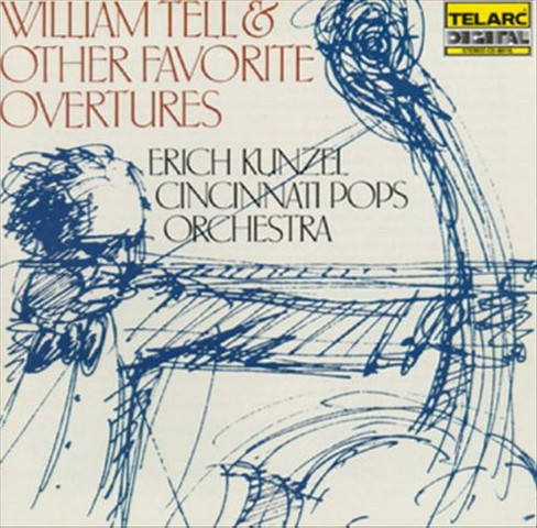 Erich kunzel - William tell & other favorite overtur (CD) - image 1 of 1