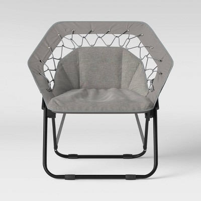 Hex Bungee Chair Gray - Room Essentials™