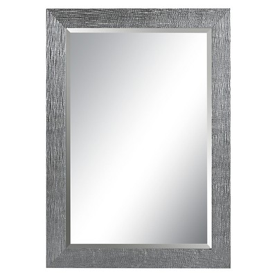 Rectangle Tarek Decorative Wall Mirror Silver - Uttermost