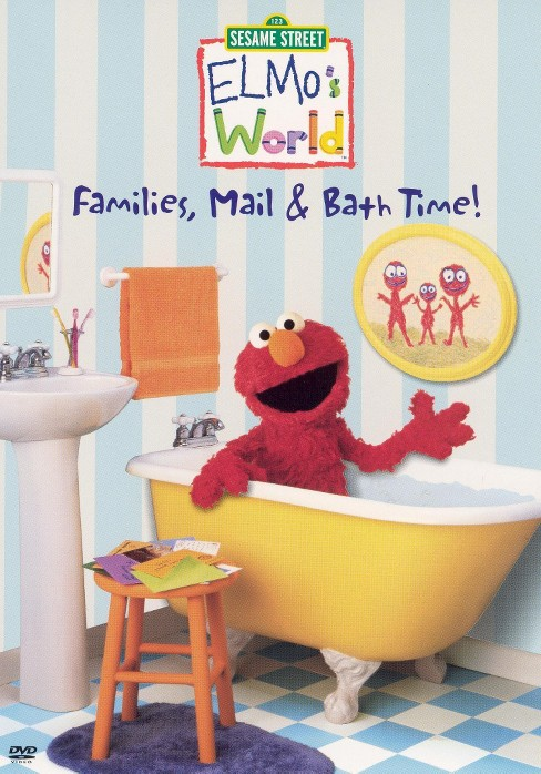 Elmo's world:Families mail & bath tim (DVD) - image 1 of 1