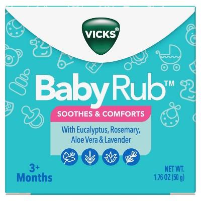 Vicks BabyRub Chest Rub Soothing Ointment - 1.76oz