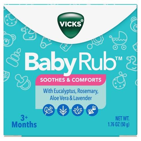 Vicks BabyRub Chest Rub Soothing Ointment - 1.76oz - image 1 of 3