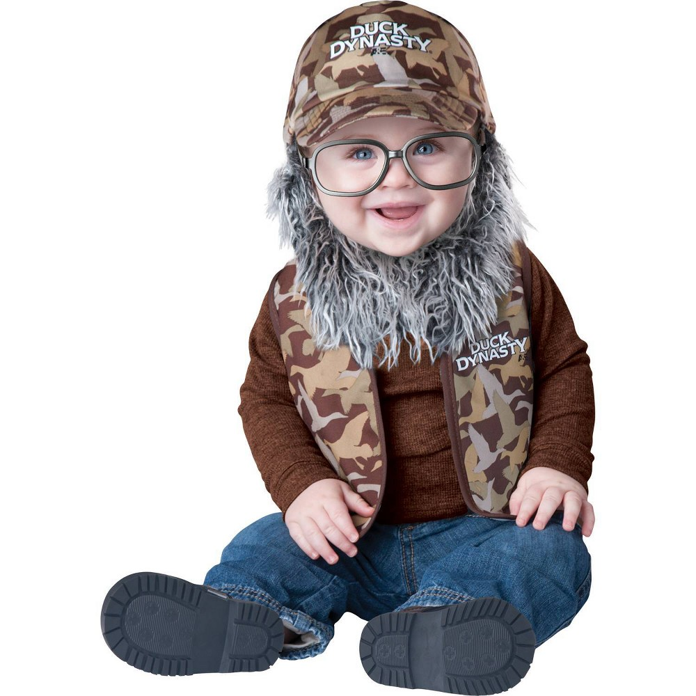 Image of Halloween Boys' Duck D Baby Uncle Si Toddler Costume 18-2t, Boy's, Size: Small, MultiColored