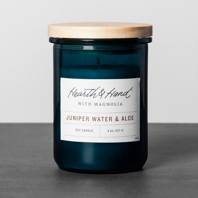 Lidded Jar Candle - Juniper Water & Aloe - Hearth & Hand™ with Magnolia