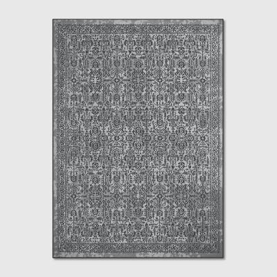 5'X7' Splatter Tufted Area Rugs Gray - Threshold™