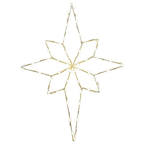 "48"" x 36"" Bethlehem Star C7 Wire Motif - Multicolored - image 1 of 1"