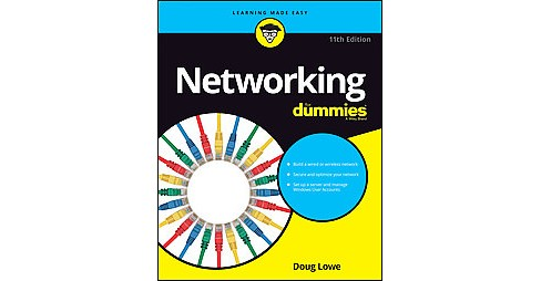 Networking for Dummies (Paperback) (Doug Lowe) - image 1 of 1
