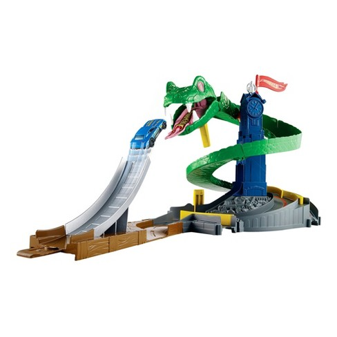 Hot Wheels City Cobra Crush Playset - image 1 of 5