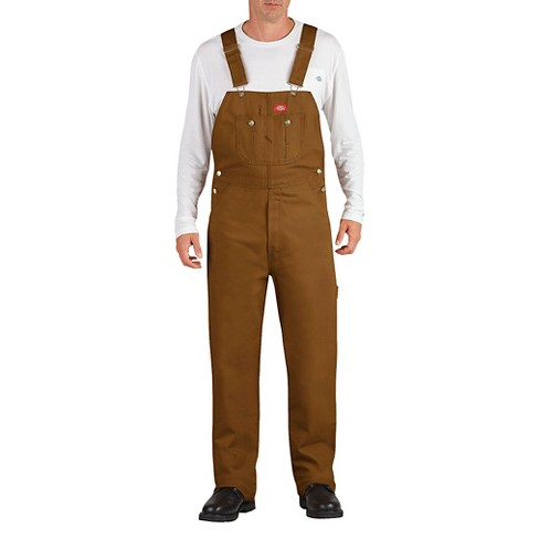 Dickies® Men's Big & Tall Washed Denim Bib Overall - image 1 of 2