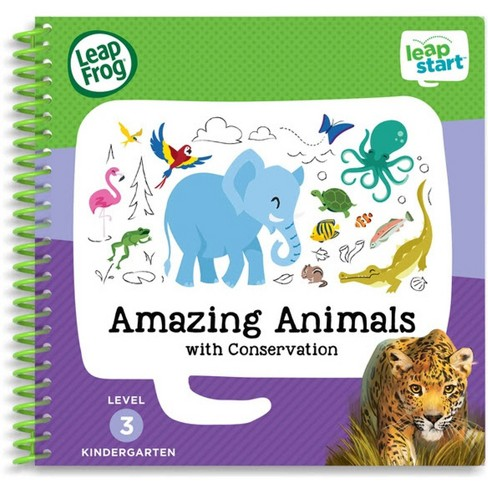 LeapFrog LeapStart Kindergarten Activity Book: Amazing Animals and Conservation - image 1 of 7