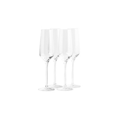 6.8oz 4pk Crystal Experience Champagne Glasses - Stoelzle