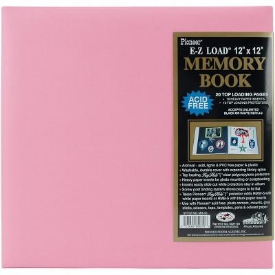 "Pioneer Pastel Leatherette Post Bound Album 12""X12"""