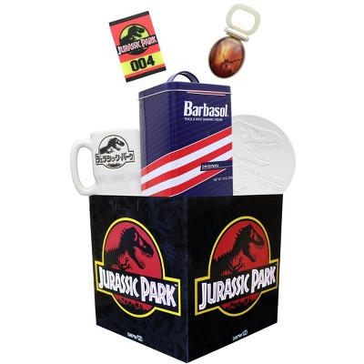 Toynk Jurassic Park Looksee Gift Box | Includes 5 Jurassic Park Collectibles