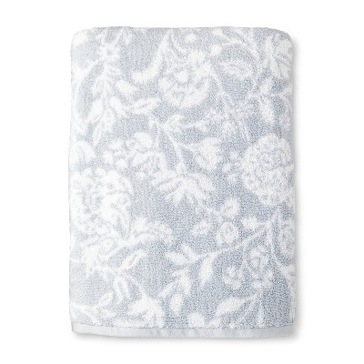 Bath Sheet Performance Texture Bath Towels And Washcloths White Hyacinth - Threshold™
