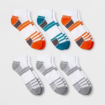 Fruit of the Loom Men's 6pk Breathable Performance Ankle Socks - 6-12