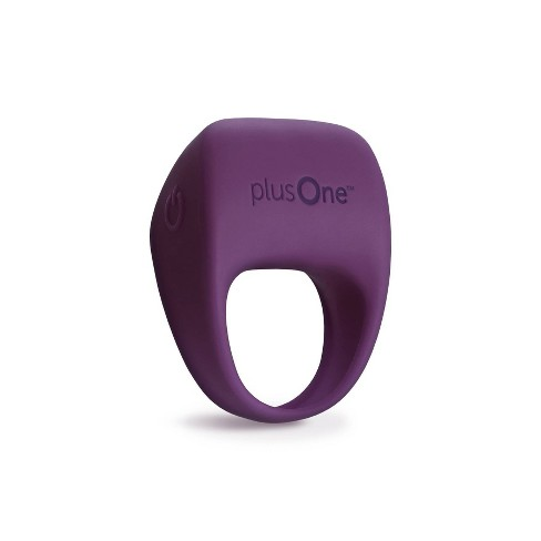 plusOne Waterproof Couples Stimulation Rechargeable Vibrating Ring - image 1 of 4