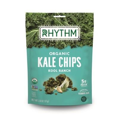 Rhythm Organic Vegan Superfoods Kool Ranch Kale Chips - 2oz