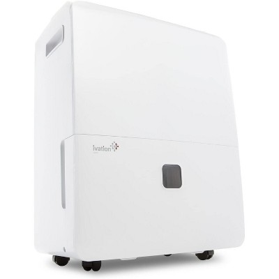 Ivation 95-Pint(60-Pint New DOE) ENERGY STAR Dehumidifier w/ Pump, Super Large Capacity Compressor for Spaces upto 6,000 sq. ft.
