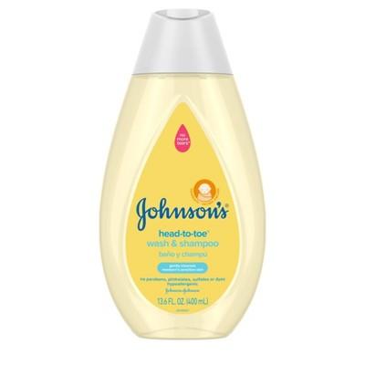 Johnson's Head-To-Toe Baby Wash and Shampoo - 13.6 fl oz