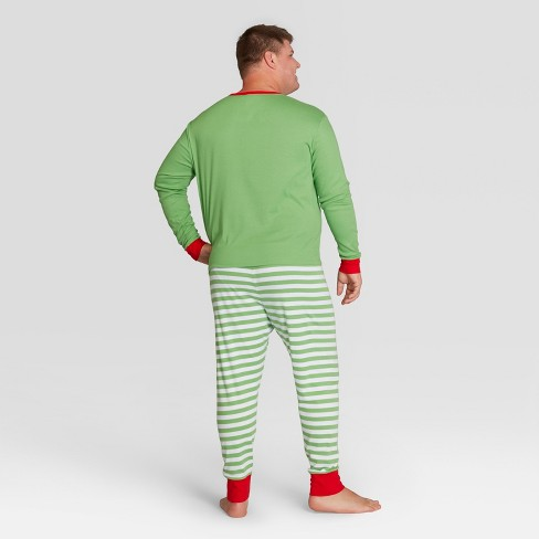 mens big tall holiday elf pajama set wondershop green 3xbt target