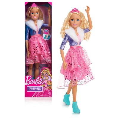 "Barbie Best Fashion Friend 28"" Princess Doll"