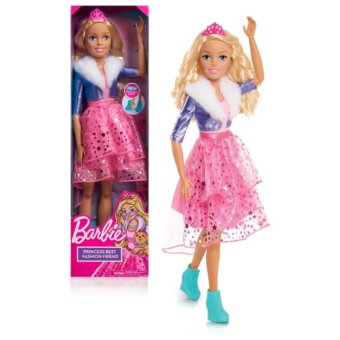 "Barbie Best Fashion Friend 28"" Princess Doll - image 1 of 4"