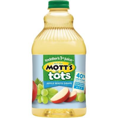 Mott's for Tots Apple White Grape Juice - 64 fl oz Bottle