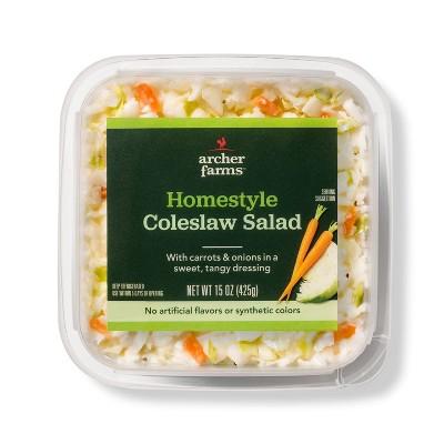 Homestyle Coleslaw Salad - 15oz - Archer Farms™