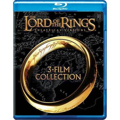 The Lord of the Rings: 3-Film Collection (Theatrical Versions) (Blu-ray)