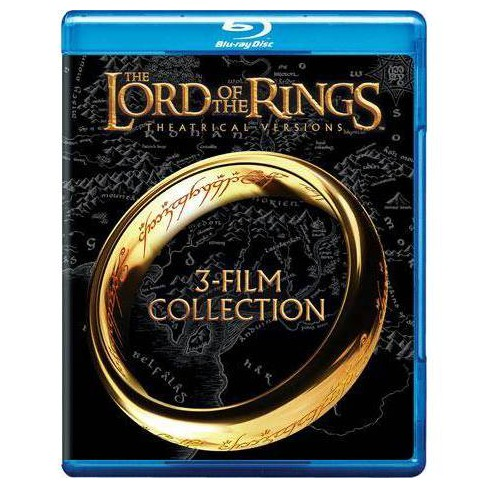 The Lord of the Rings: 3-Film Collection (Theatrical Versions) (Blu-ray) - image 1 of 1