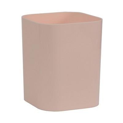 Plastic Bathroom Wastebasket Pink - Room Essentials™