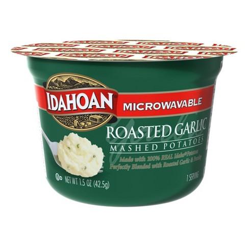 Idahoan Microwavable Roasted Garlic Mashed Potatoes 1.5 oz - image 1 of 3
