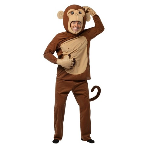 Adult Monkeying Around Costume One Size Fits Most - image 1 of 1